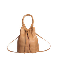 Premonition leather bag in tan