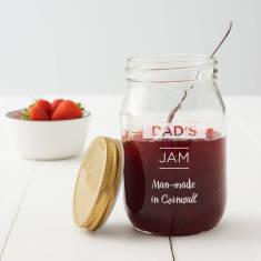 Personalised Preserving Jar