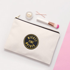 Mighty Fine Mother Canvas Pouch