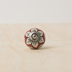 Flower knob