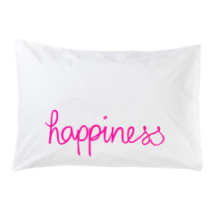Happiness pillowcase