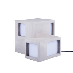 DOIY archilamp cube concrete lamp