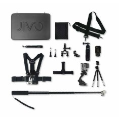 Jivo go gear kit for GoPro & action cams (11 piece kit)
