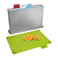 Silver index advance chopping board set by Joseph Joseph