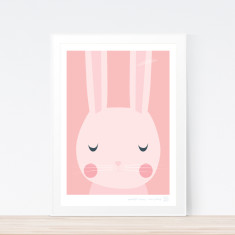 Goodnight Bunny art print