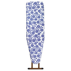 Ironing board cover in Hydrangea Cobalt Blue
