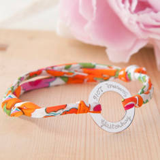 Personalised Liberty Eternity Bracelet