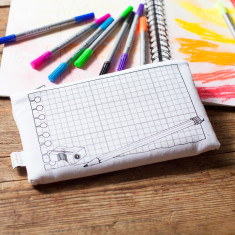 The doodle pencil case, to personalise!