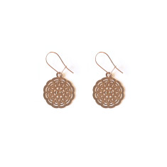 Rose Gold Lyra Earring
