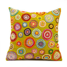 Sonia cushion cover in citrus