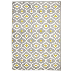 Cleopatra Grey Indoor Outdoor Rug