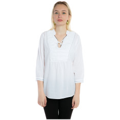 Light cotton shirt in black