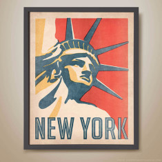 New York, Statue of Liberty print