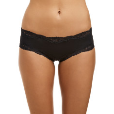 Classic Lace French Hipster - Black