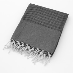Organic cotton beach blanket/throw
