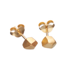 Geometric stud earrings (various designs)