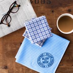 Men's Personalised Handkerchiefs (Set of 3)