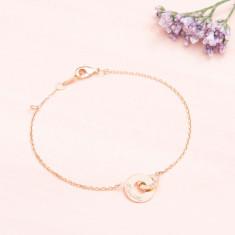 Personalised Mini Intertwined Chain Bracelet