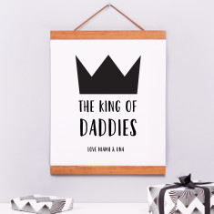 Personalised Father's day print