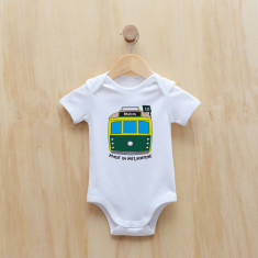 Personalised tram bodysuit