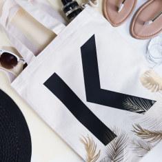 Personalised Tropical Tote Bag