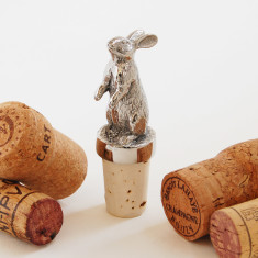 Hare Bottle Stopper