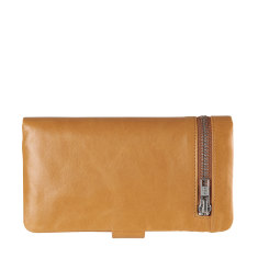Esther leather wallet in tan
