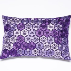 Josephine purple cushion