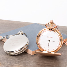 Surname Personalised Pocket Watch