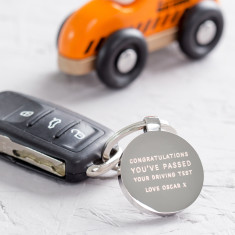 Congratulations You've Passed Your Test Keyring