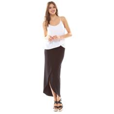 Alex Wrap Skirt Black