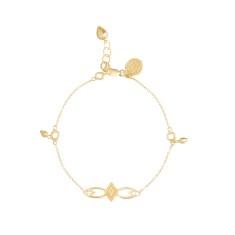 Adinkra Peace Charm Bracelet