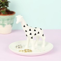 Ceramic Giraffe Jewellery Dish