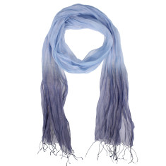 Mystic silk cotton dipped scarf (various colours)