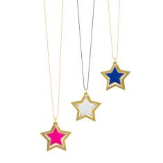Peekaboo star pendant