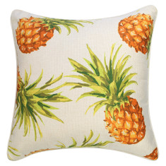 Outdoor Cushion Pineapples Natural  (various sizes)