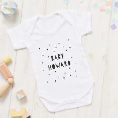 Personalised Baby Shower Onesie