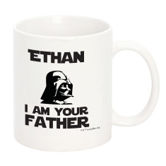 Personalised Star Wars I Am Your Father Mug