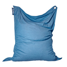 XL indoor/outdoor beanbag in Light Denim