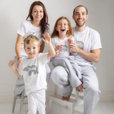 Personalised Family Polar Bear Christmas Pyjamas (Set Of Two)