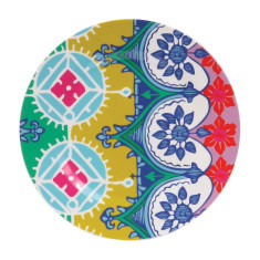 French Bull side plate in florentine pattern