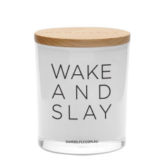 Wake And Slay Candle