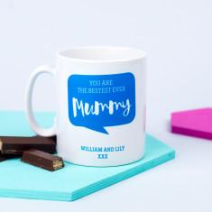 Personalised 'Bestest Ever Mummy' Mug