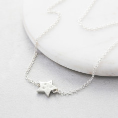 Al My Stars Silver Necklace