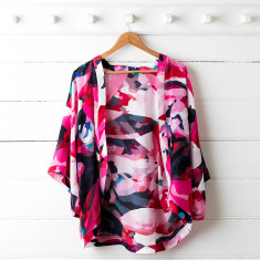 Frankie Silk Kimono Top