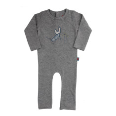 Longsleeve fox jumpsuit