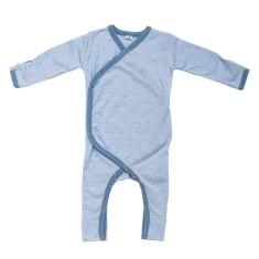 Baby jumpsuit in blue summer rain