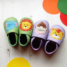 Animal fun baby shoes