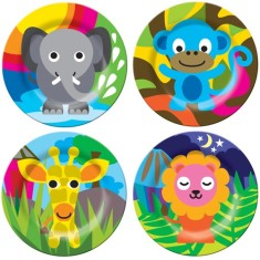 French Bull jungle plates