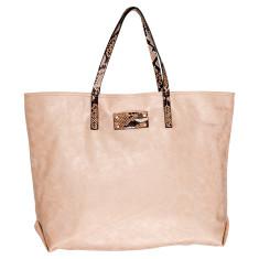 Sun Valley vegan leather beach bag